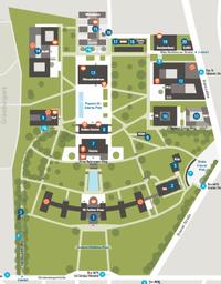 Map Campus Westend