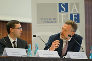 From left: Alexander Isakov (Pallantius) and Andreas Hackethal (SAFE)