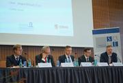 From left: Axel Wieandt (WHU), Joachim Schmalzl (Sparkasse KölnBonn), Jürgen Schaaf (ECB), Alexander Isakov (Pallantius) and Andreas Hackethal (SAFE)